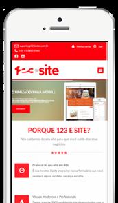 Site para celular
