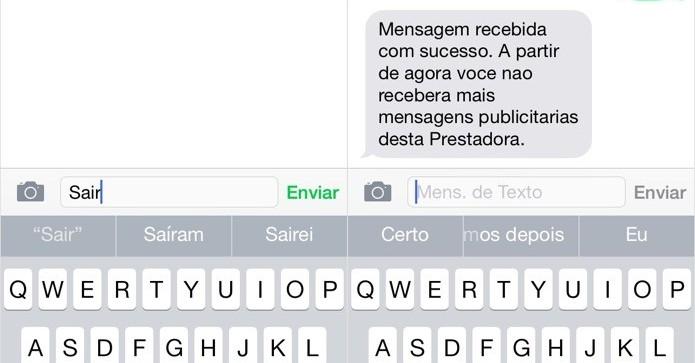 Como se livrar dos Spams de SMS de sua operadora